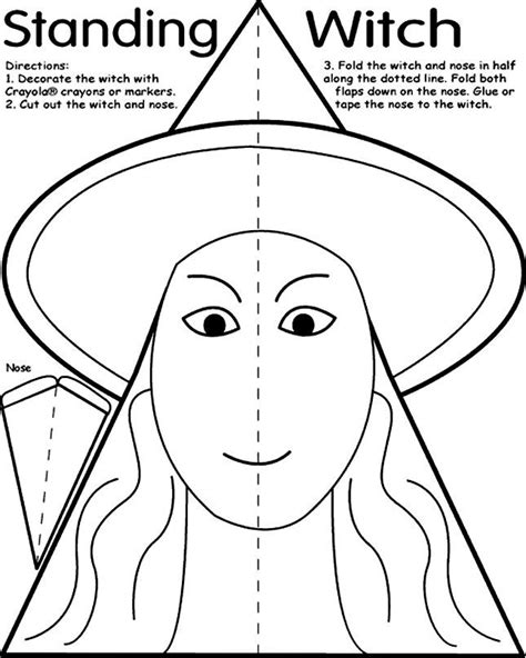 Halloween Cutouts Coloring Pages Coloring Home Coloring Pages Cutouts