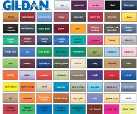 popular color gildan dryblend 50 50 t shirt