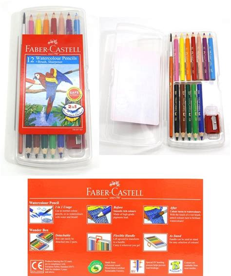 Faber Castell 12 Watercolour Pencils faber castell watercolour pencils 12 end 5 14 2017 8 57 pm