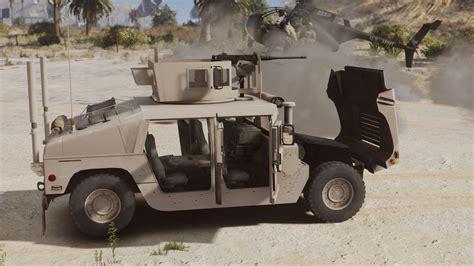 armored humvee m1114 up armored humvee add on gta5 mods com