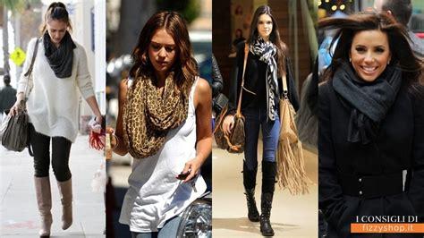 modi di portare la sciarpa 8 modi creativi di indossare la sciarpa