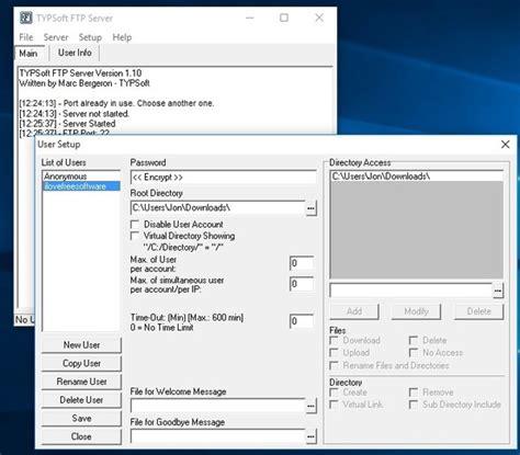 best windows ftp server 5 free ftp server software for windows 10