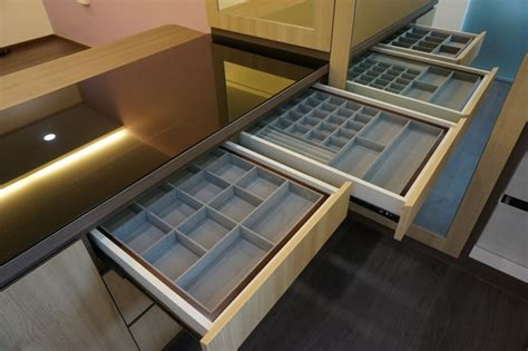 jewellery trays for drawers uk cufflink box closet modern with built in velvet trays for