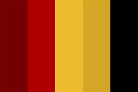 gryffindor colors gryffindor color palette