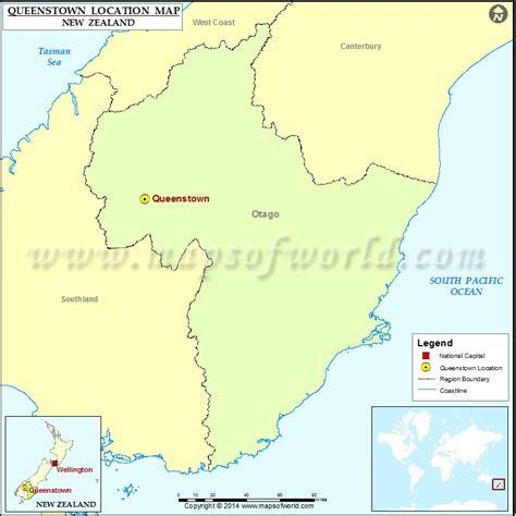 printable map queenstown where is queenstown location of queenstown in new