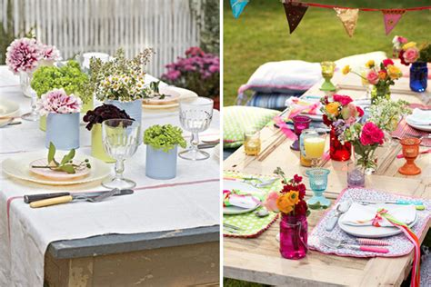mesas de decoracion terrazas de verano
