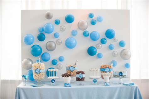 Baby Shower Blue by Blue Quot Pop Quot Themed Baby Shower The Celebration Society