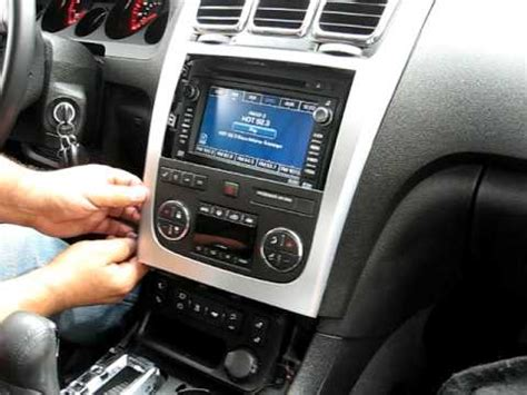 transmission control 2010 gmc acadia navigation system how to remove radio navigation dvd from 2008 gmc acadia radio for repair youtube