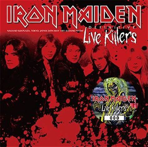 maiden murders books iron maiden definitive live killers bonus 2cdr numbered