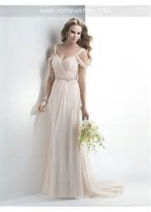 draped wedding dress blush grecian sweetheart neckline sheath chiffon