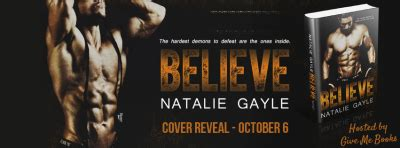 cover reveal: 'believe' by natalie gayle   reading nook
