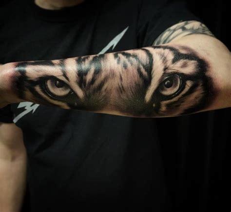 wolf eyes tattoo 52 shockingly epic tiger tattoos animal designs