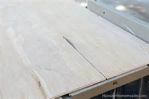 Plywood Shiplap Diy Shiplap Wall For 40 Hoosier
