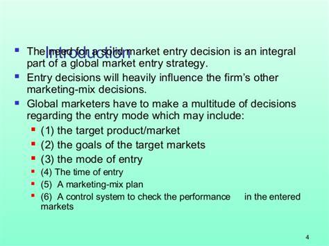 Mba Market Entry by Mba 1 Mm 1 U 4 3 International Market Entry Strategies