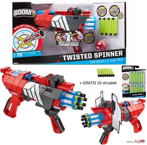Boomco Twisted Spinner karabin boomco twisted spinner 24 strzałki gratis