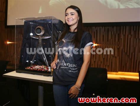 film terbaru amanda rawles foto amanda rawles di konferensi pers film jailangkung