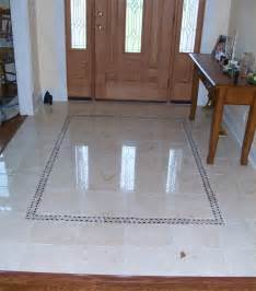 Foyer Tile Floor Design Ideas Beautiful Marble Floor In The Foyer