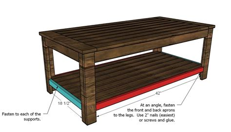 Outdoor Coffee Table Woodworking Plans Woodshop Plans Coffee Table Free Plans