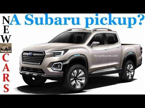 truck subaru new subaru viziv truck