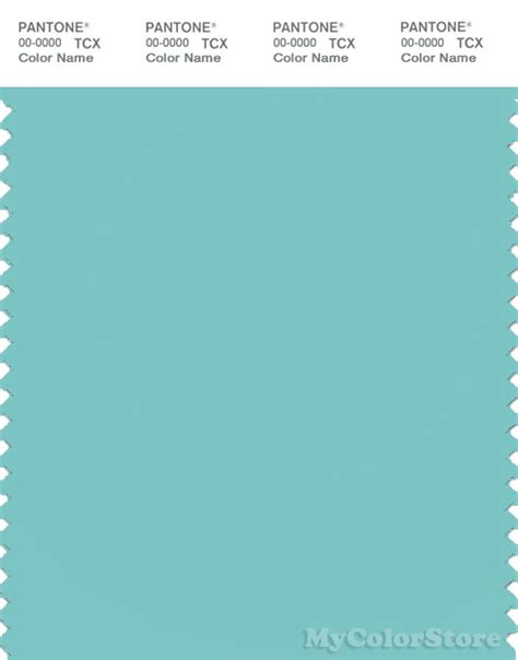Aqua Sky pantone smart 14 4811 tcx color swatch card pantone aqua sky
