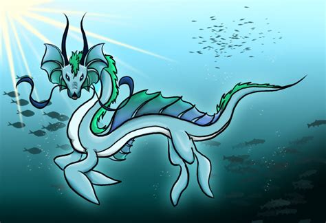 Water dragon drawing anime water dragon drawing related keywords