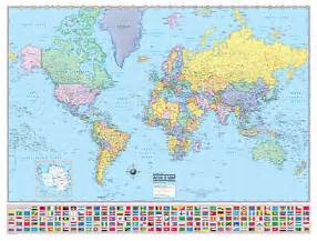 World Map Print by Wall Map Collectors 395x300 0k Gif Www A Map S Com