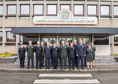 supreme headquarters allied powers europe shape leadership visits shape