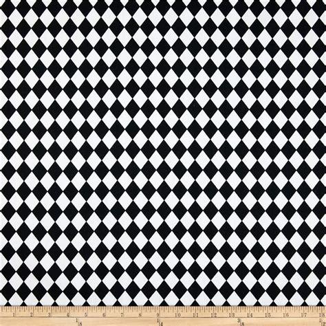 black and white diamond pattern fabric premier prints small classic diamond black white