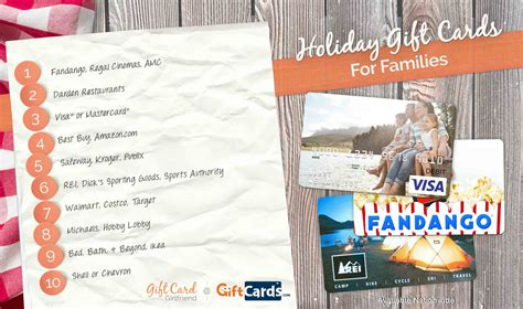Gift Cards For Families - top gift cards for families gift card girlfriend