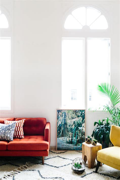 fabulous red sofas   living room