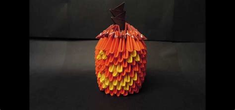 how to make 3d origami pumpkin 171 origami