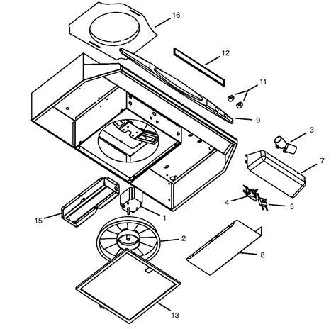 broan range light wont turn broan parts model qt236ss sears partsdirect