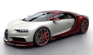 And White Bugatti Colors Of The Bugatti Chiron