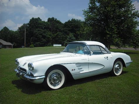 corvette 1960 price 1960 corvette for sale 1960 ermine white corvette