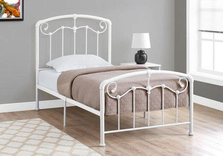walmart white bed frame monarch specialties white bed frame walmart canada