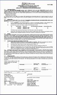 purchase contract template h o m e s sle document purchase agreement condo