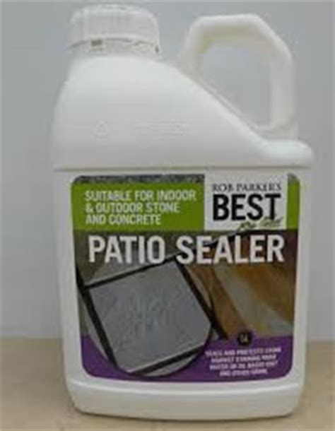 Best Patio Sealant by Rob S Best Patio Sealer Rob Parkers Best