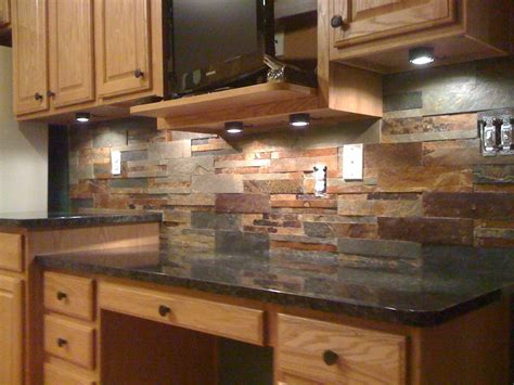 slate kitchen backsplash travertine backsplash decobizz com