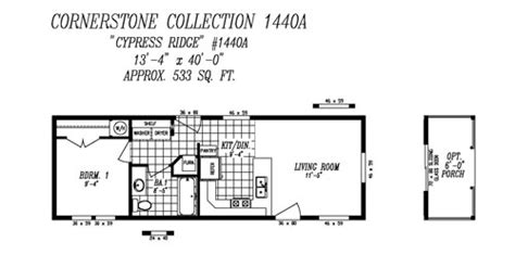14x40 floor plans floor plans value edition heritage home center manufactured homes