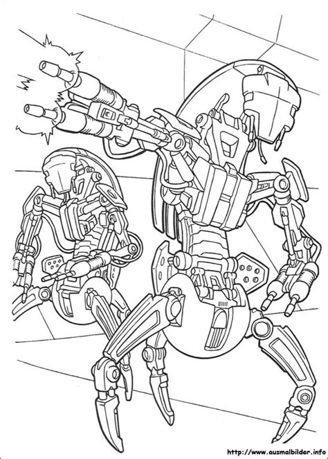 coloring pages hoth wars malvorlagen