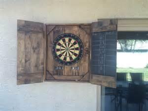 white dart board diy projects