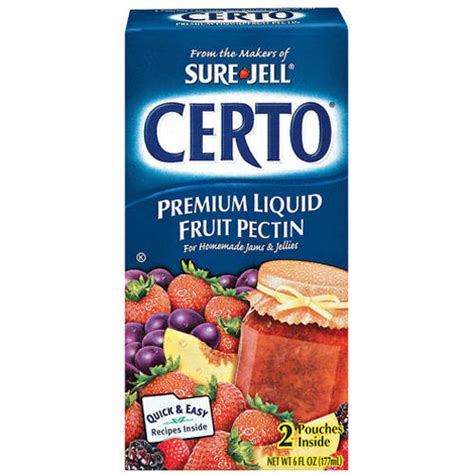 Certo Detox How To Use by Kraft Baking Canning Certo Fruit Pectin Premium Liquid