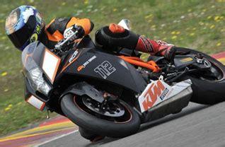 Motorrad Gabel Hat Spiel by Ktm Rc8 Testbericht