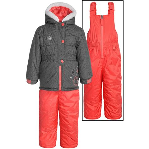 rugged winter jackets rugged embroidered winter jacket and bibs set for toddlers save 60