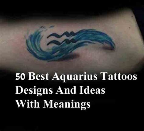 aquarius tattoo design ideas 50 best aquarius tattoos designs and ideas with meanings