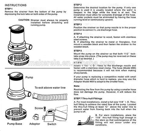 rule bilge wiring diagram 3 way float switch diagram