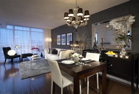 Modern Condo Living Room Design by Modern Condo Decorating On