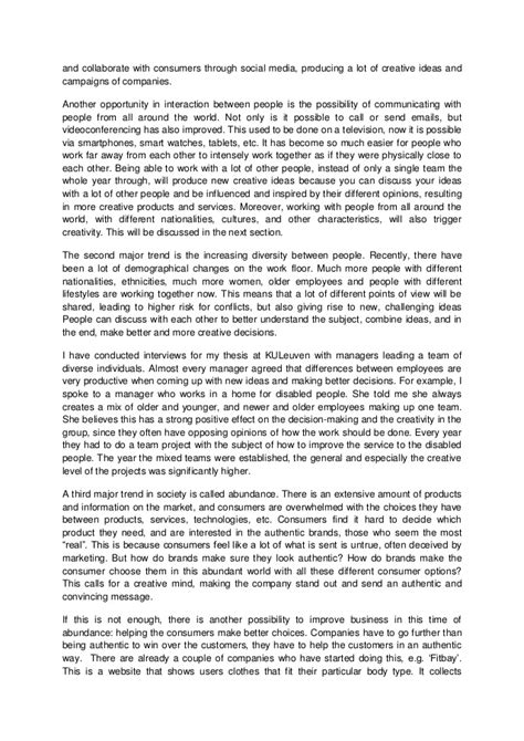 Vs Society Essay by Essay Trends In Society Verlinden