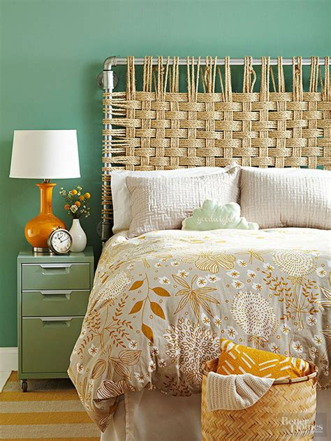 diy headboard ideas diy rope headboard