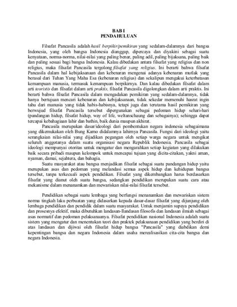 Pancasila Dalam Makna Dan Aktualisasi Buku Filsafat pandangan filsafat pancasila tentang manusia masyarakat pendidikan